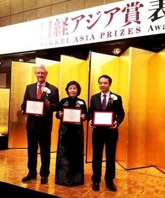 CEO Vinamilk, người Việt Nam duy nhất giành giải thưởng NIKKEI Châu Á - anh 2