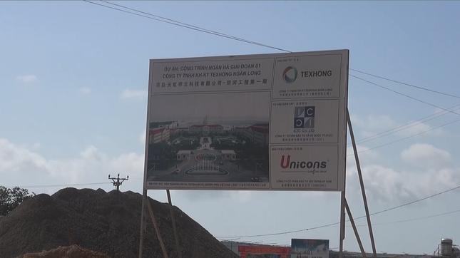 Quảng Ninh: Doanh nghiệp Trung Quốc xây dựng dự án khi chưa có quyết định giao đất - anh 1