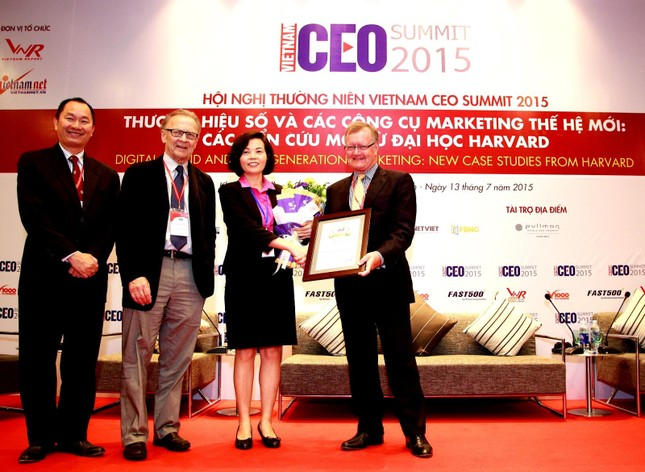 Vinamilk đứng đầu Top 10 thương hiệu uy tín nhất trên truyền thông năm 2015 - anh 1