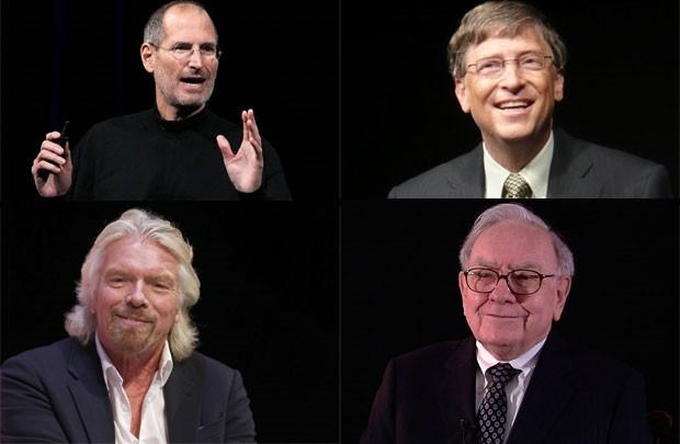 50 bài học quản trị từ Jobs, Gates, Buffett và Branson - anh 1