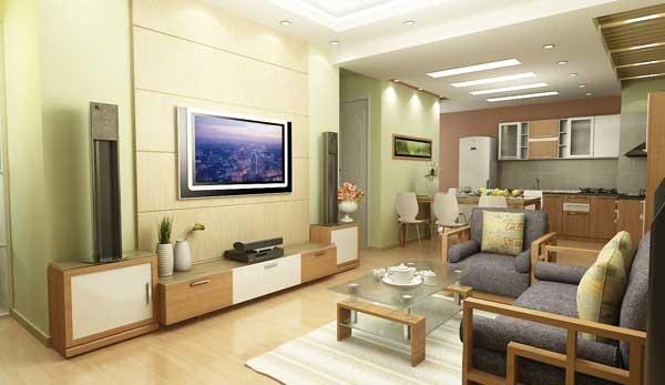 Cách bài trí phòng khách trong căn hộ chung cư tăng thịnh vượng cho gia chủ - anh 1