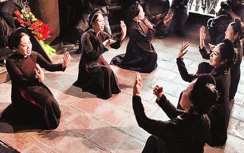 Hồi sinh hát cửa đình người Việt - anh 1