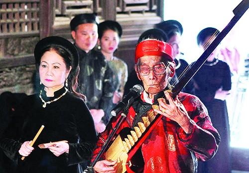 Hồi sinh hát cửa đình người Việt - anh 2