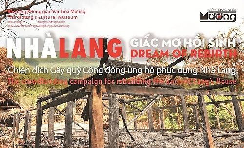 """Không gian văn hóa Mường: """"Giấc mơ hồi sinh"""" nhà Lang - anh 1"""