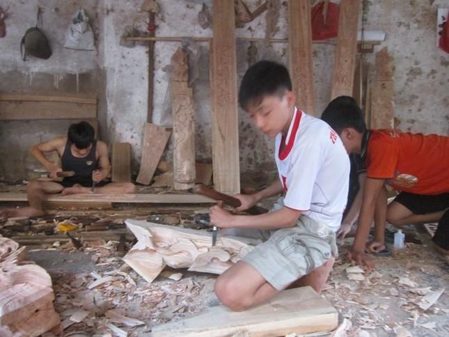 Nức tiếng ngôi làng xứ Đoài ngót nghét 1000 năm đi dựng nhà cổ - anh 2