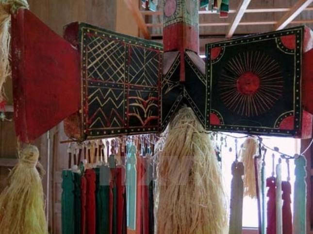 Nghi lễ dựng cây nêu và bộ gu của người Co ở Quảng Nam là Di sản văn hóa quốc gia - anh 2