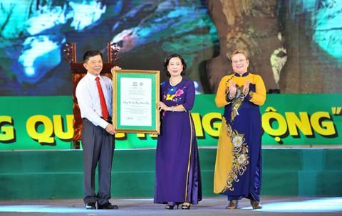 Phong Nha - Kẻ Bàng được UNESCO công nhận là Di sản thiên nhiên thế giới lần 2 - anh 2