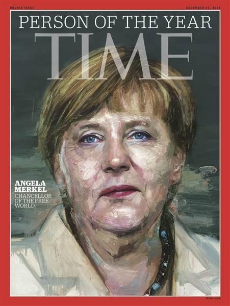 Thủ tướng Đức Angela Merkel trở thành Nhân vật của năm 2015 - ảnh 1