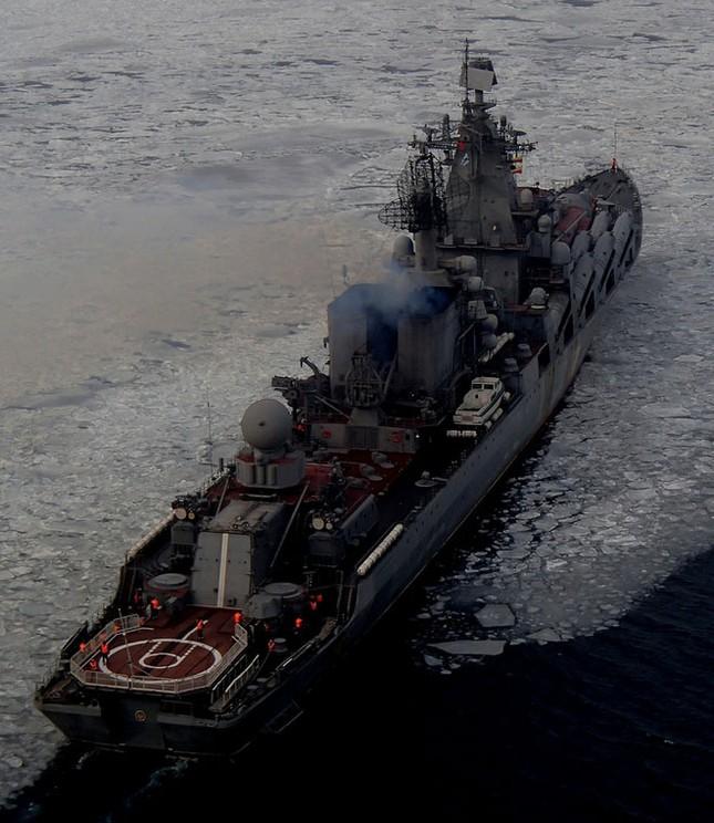 Sức mạnh tuần dương hạm Varyag thay thế soái hạm Mosvka ở Syria - ảnh 2