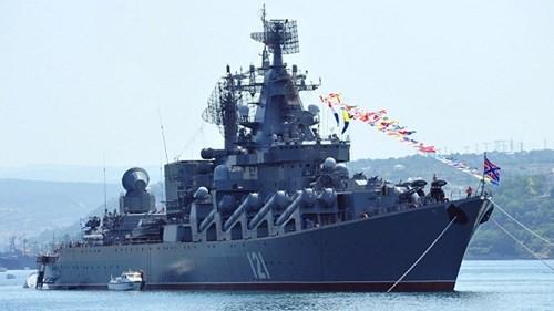 Sức mạnh tuần dương hạm Varyag thay thế soái hạm Mosvka ở Syria - ảnh 4