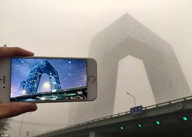 Chùm ảnh Bắc Kinh lung linh, ảm đạm trước và sau sương mù - ảnh 1
