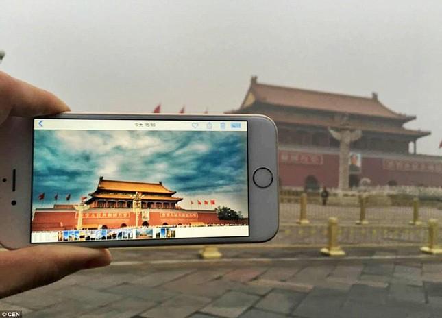 Chùm ảnh Bắc Kinh lung linh, ảm đạm trước và sau sương mù - ảnh 2