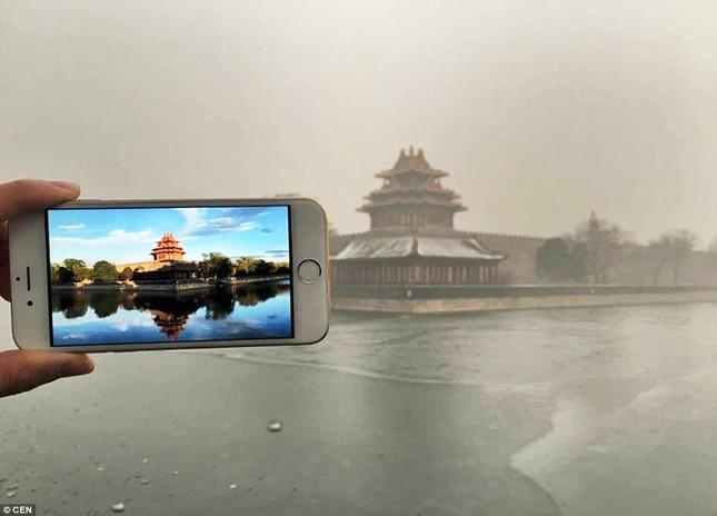 Chùm ảnh Bắc Kinh lung linh, ảm đạm trước và sau sương mù - ảnh 3