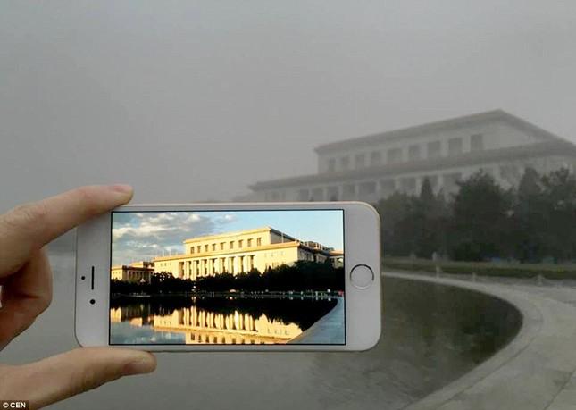 Chùm ảnh Bắc Kinh lung linh, ảm đạm trước và sau sương mù - ảnh 5