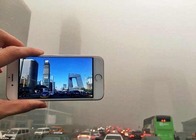 Chùm ảnh Bắc Kinh lung linh, ảm đạm trước và sau sương mù - ảnh 7