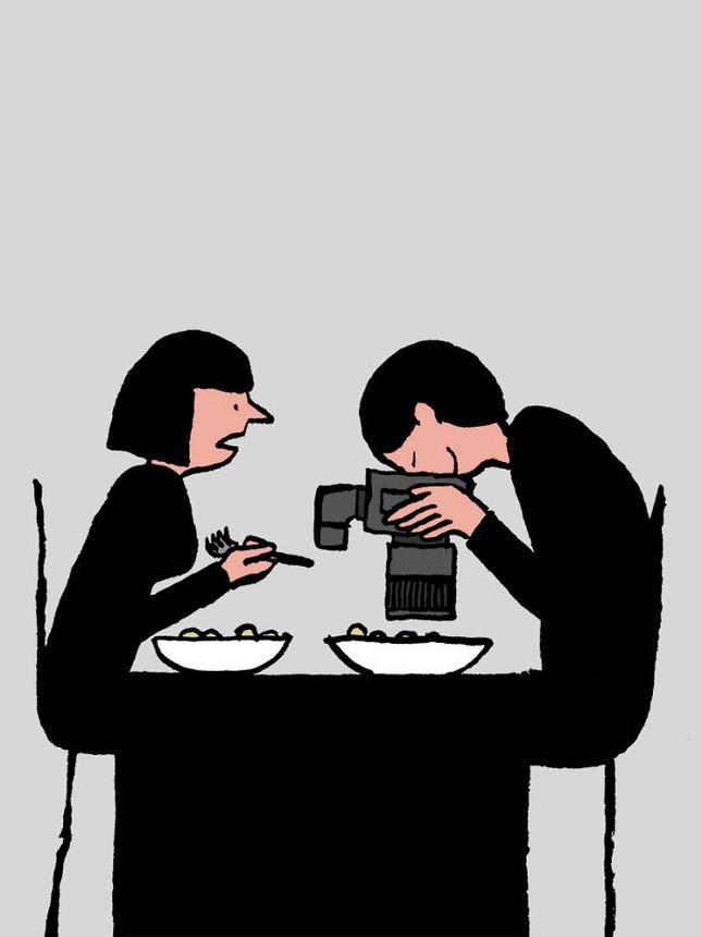 Giật mình trước bộ ảnh con người đang trở thành nô lệ của công nghệ - ảnh 7
