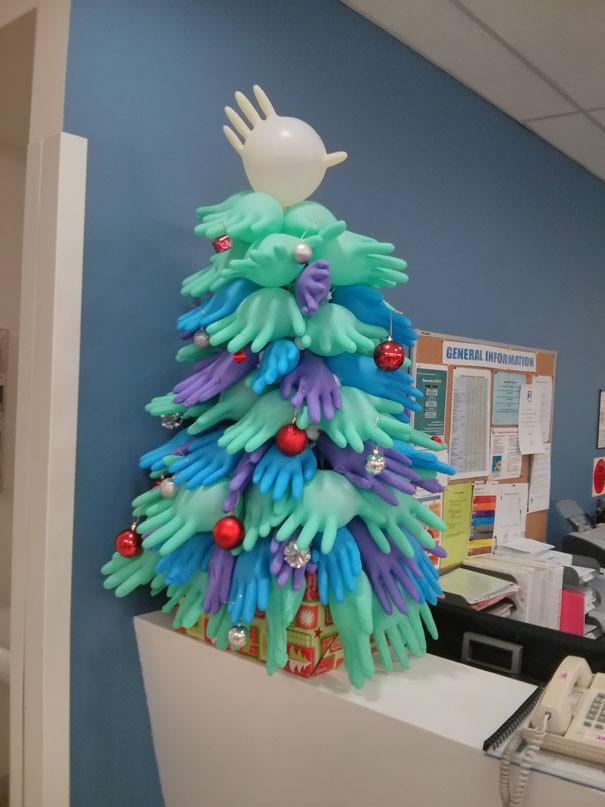 Ngắm những hình ảnh đón Giáng sinh cực 'chất' tại các bệnh viện - ảnh 3