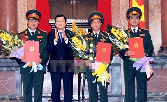 Bộ Quốc phòng có 3 tân Thượng tướng - ảnh 1