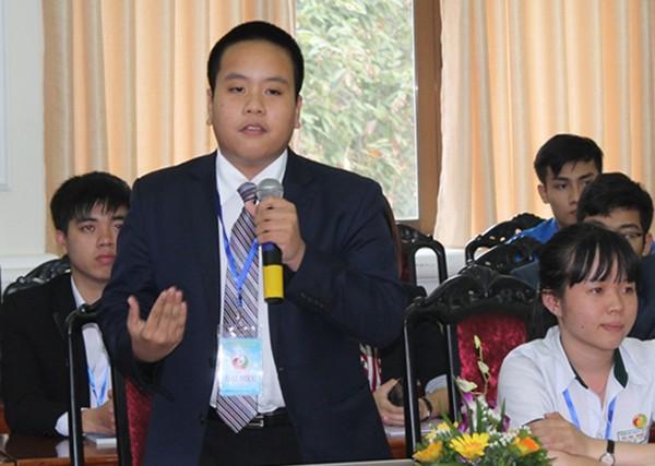 'Thần đồng' Đỗ Nhật Nam nói gì tại đại hội Tài năng trẻ?