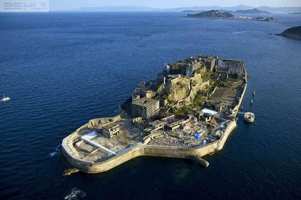 Hashima: Kỳ lạ 'hòn đảo ma' giữa biển Nhật Bản - ảnh 1