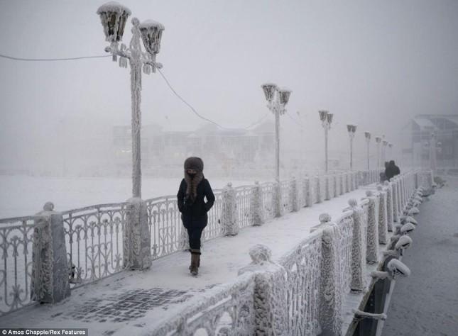 Khám phá cuộc sống tại ngôi làng lạnh nhất thế giới ở Nga - ảnh 2