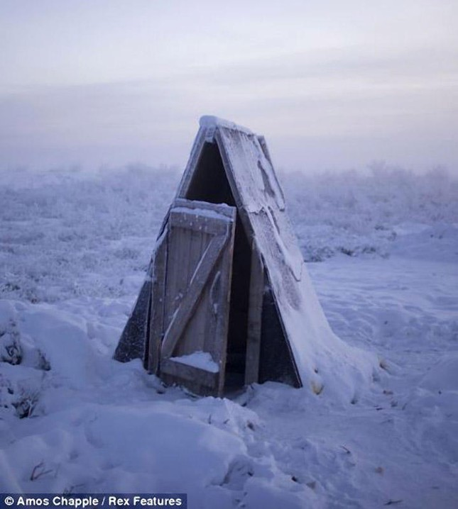 Khám phá cuộc sống tại ngôi làng lạnh nhất thế giới ở Nga - ảnh 14