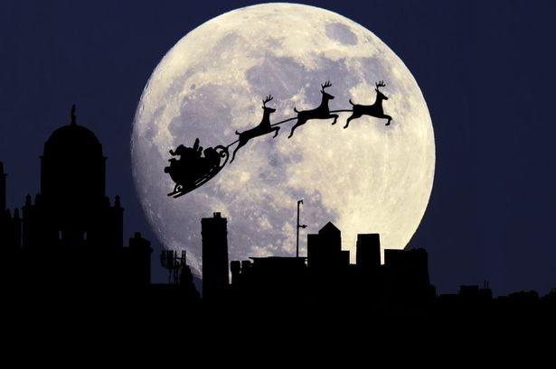 Lần đầu tiên xuất hiện trăng tròn đúng dịp Giáng sinh sau 38 năm - ảnh 1