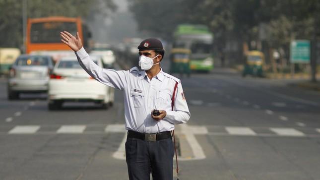 Báo động về tình trạng ô nhiễm không khí tại Ấn Độ - ảnh 1