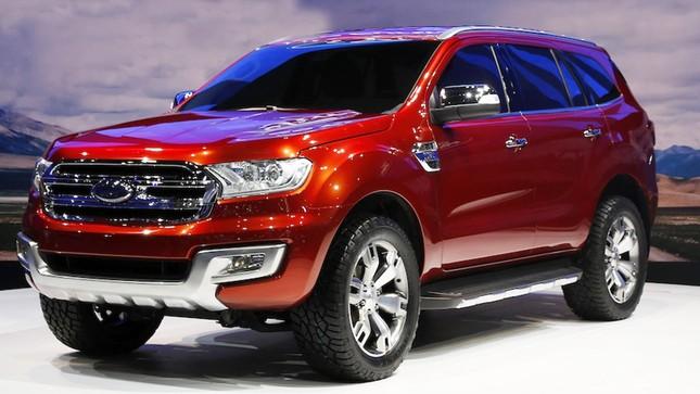 """Ford Everest 2016 """"chốt"""" giá thấp nhất 1,249 tỷ đồng tại Việt Nam - ảnh 1"""
