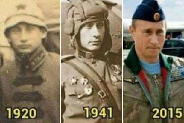 Phát hiện 2 bản sao giống Tổng thống Nga Putin gần 100 năm trước - ảnh 1