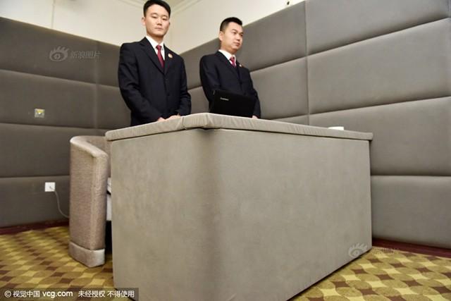 """Phòng giam """"chống tự tử"""" dành cho các quan tham ở Trung Quốc - ảnh 3"""