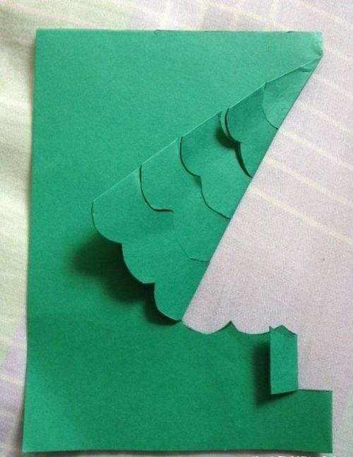Cách làm 4 mẫu thiệp giáng sinh hình cây thông siêu dễ thương  - ảnh 2