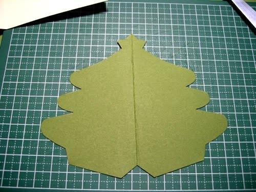 Cách làm 4 mẫu thiệp giáng sinh hình cây thông siêu dễ thương  - ảnh 12