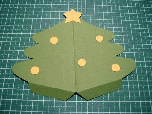 Cách làm 4 mẫu thiệp giáng sinh hình cây thông siêu dễ thương  - ảnh 14