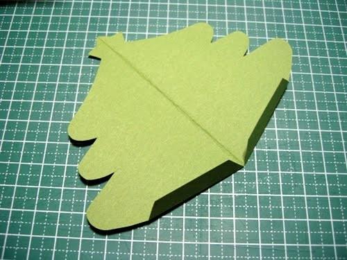 Cách làm 4 mẫu thiệp giáng sinh hình cây thông siêu dễ thương  - ảnh 13