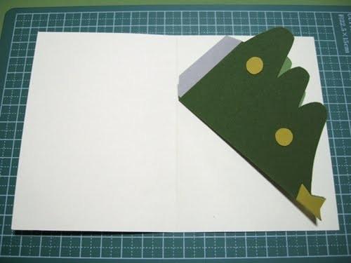 Cách làm 4 mẫu thiệp giáng sinh hình cây thông siêu dễ thương  - ảnh 15