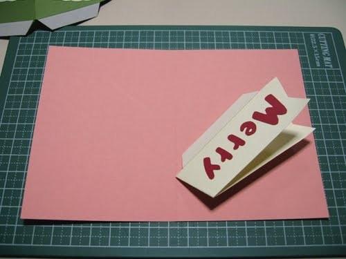 Cách làm 4 mẫu thiệp giáng sinh hình cây thông siêu dễ thương  - ảnh 20