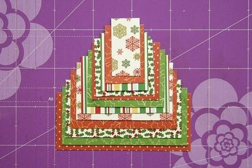 Cách làm 4 mẫu thiệp giáng sinh hình cây thông siêu dễ thương  - ảnh 25