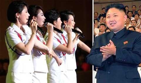 Ngỡ ngàng trước nhan sắc nhóm nhạc 'cưng' của ông Kim Jong-un - ảnh 1