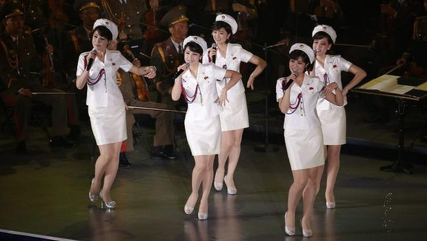Ngỡ ngàng trước nhan sắc nhóm nhạc 'cưng' của ông Kim Jong-un - ảnh 4