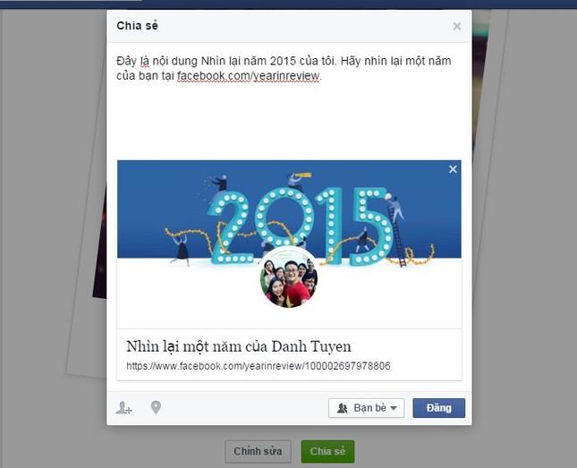 Tổng kết năm 2015 với tính năng Year in Review của Facebook - ảnh 4