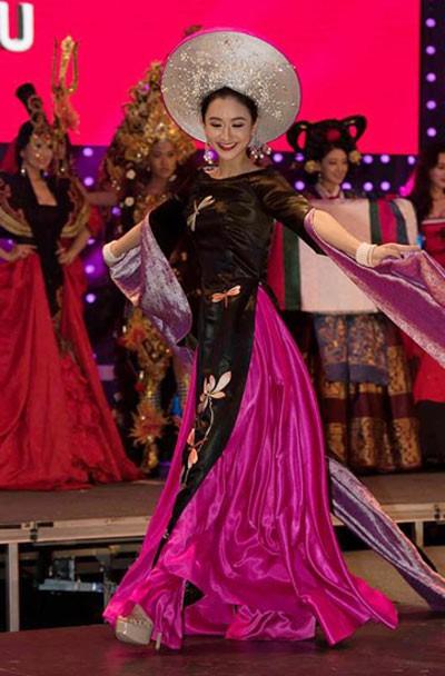 Hà Thu đoạt giải Hoa hậu được yêu thích nhất tại HH Liên lục địa - ảnh 1