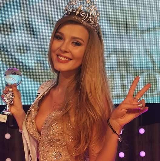 Hà Thu đoạt giải Hoa hậu được yêu thích nhất tại HH Liên lục địa - ảnh 2