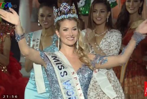 Người đẹp Tây Ban Nha đăng quang Hoa hậu Thế giới 2015 - ảnh 1