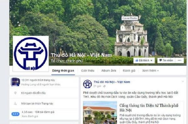 Hà Nội tham gia facebook: 'Bình luận chê có bị phạt?' - ảnh 1