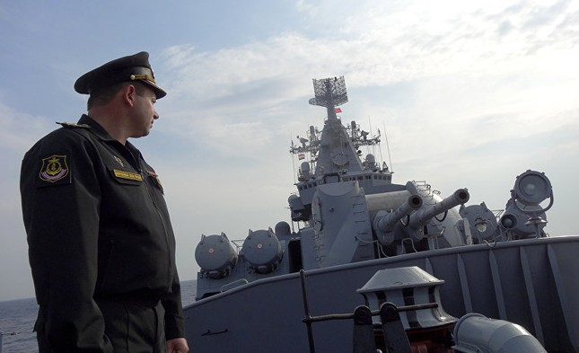 Cận cảnh dàn vũ khí khủng trên tuần dương hạm Moskva tại Syria - ảnh 2
