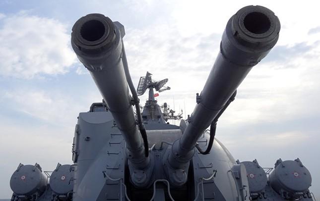 Cận cảnh dàn vũ khí khủng trên tuần dương hạm Moskva tại Syria - ảnh 8