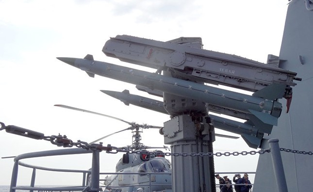 Cận cảnh dàn vũ khí khủng trên tuần dương hạm Moskva tại Syria - ảnh 6