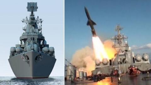 Cận cảnh dàn vũ khí khủng trên tuần dương hạm Moskva tại Syria - ảnh 9