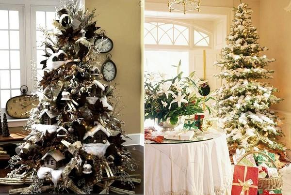 10 gợi ý trang trí cây thông thật lộng lẫy đón Giáng sinh 2015 - ảnh 1